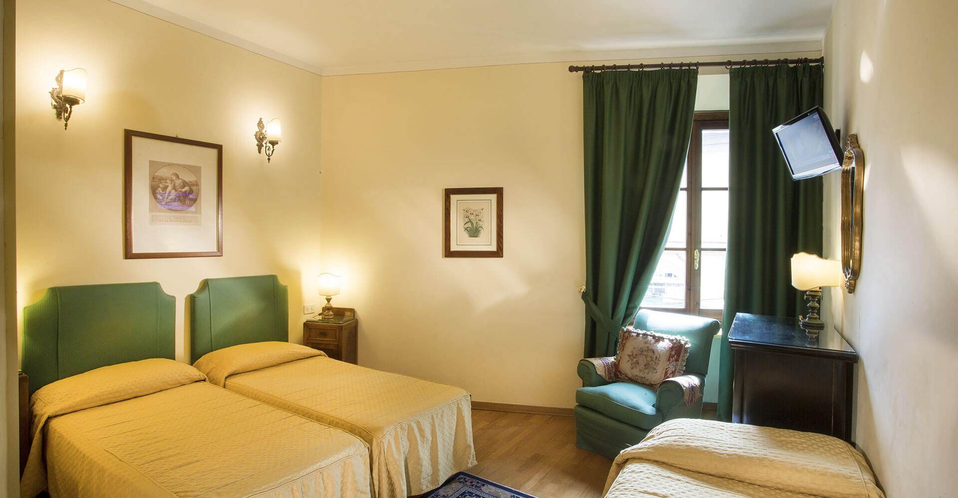 Chambres hotel hermitage florence for Chambre hotel florence